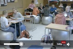 【影片】挪威小學將座椅換成平衡球 學生愛極了 | 台灣大紀元