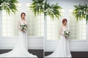 大里新娘秘書造型 韓式簡約不敗浪漫髮型 - 台中新娘秘書 新娘造型 大里/太平/烏日 Joanne
