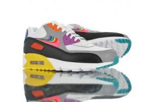 nike air max 90 彩虹色刺繡疊勾情侶款休閒氣墊運動鞋 白灰黑彩虹_nike air max_Nike鞋子_運動鞋子_adidas originals|adidas官方目錄,愛迪達鞋子,愛迪達外套-adidas官方網台灣