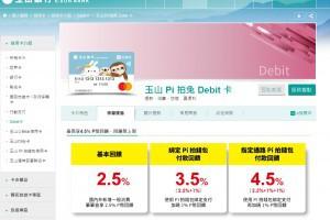 玉山 pi 拍兔Debit卡 最強大強威的簽帳金融卡 | 小博數位生活