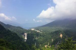 明智平纜車登頂,眺望中禪寺湖華嚴瀑布 - Jeff & Jill的窩 - udn部落格
