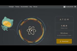 推薦適合程式開發用的 editor - Atom @ Murphy的書房