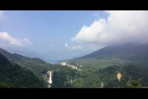 Jeff & Jill 的足跡: 明智平纜車登頂,眺望中禪寺湖華嚴瀑布
