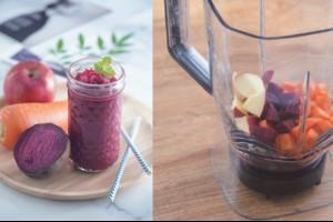 營養又飽足的「ABC果汁」,早餐前喝竟可甩內臟脂肪!打果汁前多一步驟,可增加營養吸收 | 營養食譜 | 養生 | 元氣網