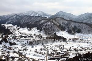 【日本】山寺 冬之潑墨雪景