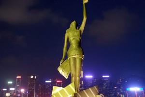 香港維多利亞港《星光大道-幻彩詠香江》抬頭燈光秀低頭找星星 - I.M. Cee @ 艾美生活雜記