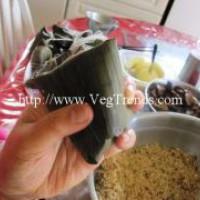 粽子食譜:養生素肉粽子做法