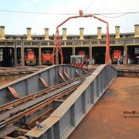 【台灣.彰化】彰化火車站扇形車庫:全台唯一的火車旅館,「湯瑪士小火車-提茅斯機房」真實呈現XD