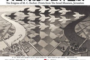 【 展覽資訊 | 錯覺藝術大師 艾雪的魔幻世界畫展】