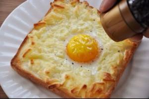 神一樣的麵包吃法 超簡單卻超好吃~真是太神了!!