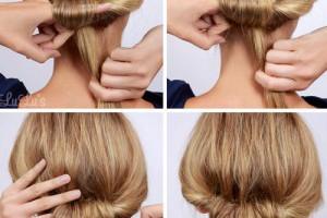 手殘妹有福了!3分鐘學會Olivia Palermo奧利維亞巴勒簡潔盤髮 - Marie Claire 美麗佳人風格時尚網