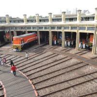 鐵道。親子小旅行—鐵道迷必訪。彰化扇形車庫